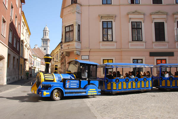 Sightseeing tour in Sopron by train